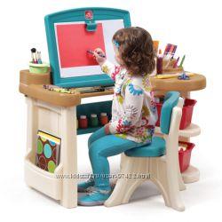 Стол-мольберт для творчества Step2 Studio Art Desk. Часть 6.