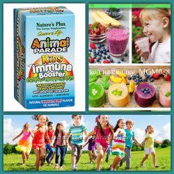 Детские витамины бустеры для иммунитета Animal parade booster