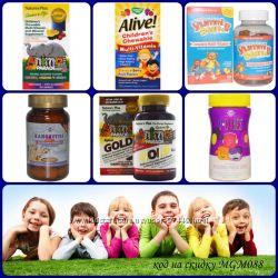 Лучшие детские витамины Hero, Yummi Bears , Animal parade, Solgar Kangavite