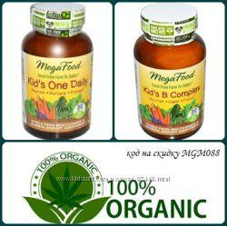 MegaFood и Garden Натуральные полностью детские витамины и витамины  В