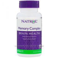 Natrol, Комплекс для памяти c  гинкго билоба и лецитином