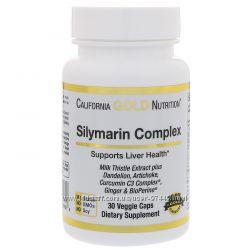 California Gold Nutrition, Силимариновый комплекс, здоровье печени