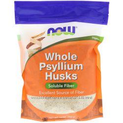 Now Foods, Цельная оболочка семян подорожника, 16 унций 454 г