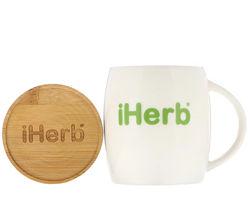 iHerb Goods керамическая чашка с подставкой