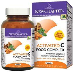 New Chapter, Активированный натуральный  комплекс с витамином С