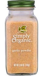 Simply Organic, органический чеснок , гриль, морепродукты, универсальная