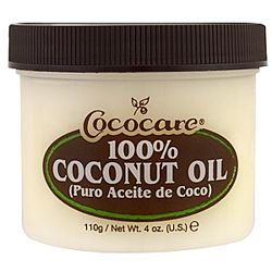 Cococare, 100 Кокосовое масло, 4 унции 110 г
