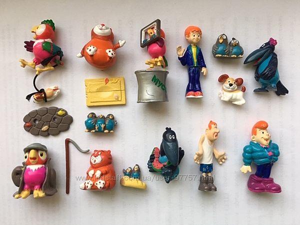 Продам игрушки из киндер сюрприза, Ландрин