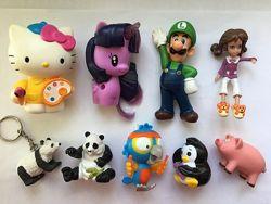 Продам игрушки Макдональдс, Маша и медведь