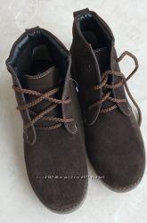 Распродажа новые ботинки Braska, натуральные, 34 размер