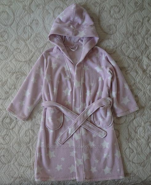 Флисовый халат cool club р.116