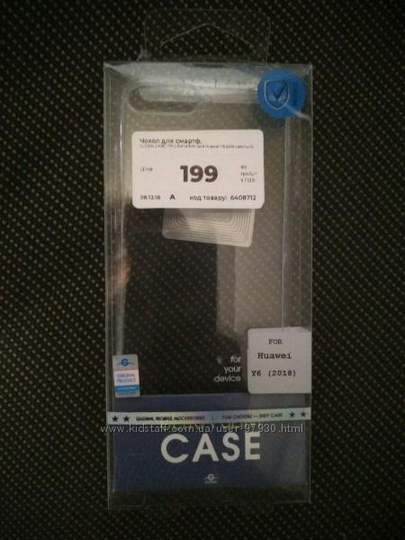 Чехол Global Huawei Y6 Extra Slim, прозрачный