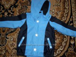 Непромокаемая утепленная куртка-дождевик TCM.