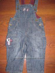 Продам  джинсовые комбинезоны