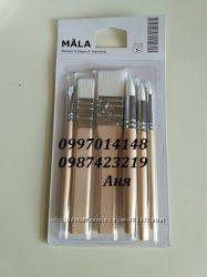 Набір пензлів Мала від Ікеа Mala Ikea