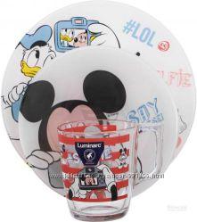 Набор детской посуды Luminarc Disney Mickey Mouse
