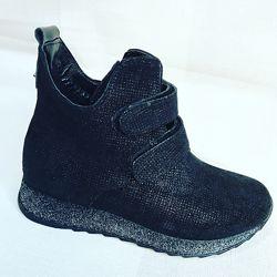 кожаные ботинки деми в наличии 29-38