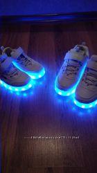 кроссовки LED  от21р