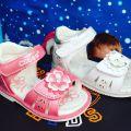 летняя обувь мальчик и девочка