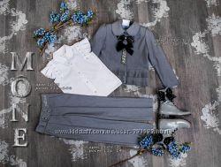 Пиджаки Моне серые