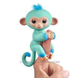 Интерактивная Двухцветная обезьянка Эдди WowWee Оригинал.