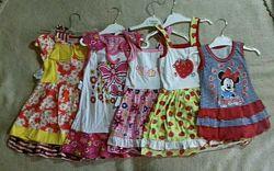 Летние платья, сарафаны для девочек