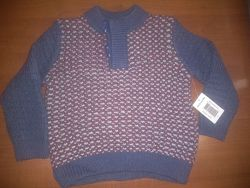 Теплый  джемпер-свитер MATALAN  18-23 мес.