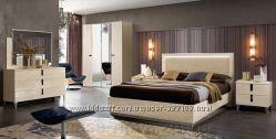 Итальянская модерновая спальня ONDA и AMBRA, мебель Modum - Camelgroup