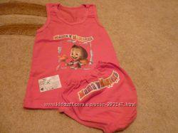Комплект на девочку майкатрусы размер 34