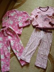 Пижамки на девочку 6-7 лет