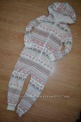 Человечек пижама комбинезон ромпер Matalan 6-7 лет, рост 116см