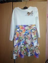 Нарядное платье в идеальном состоянии рост 140