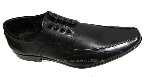 41 размер Распродажа Туфли классика кожа шнурок