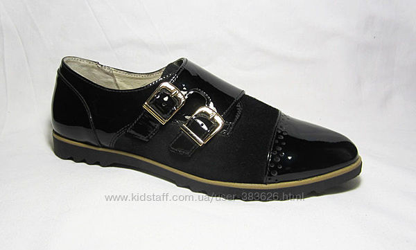 37 размер Распродажа Туфли женские пряжка лак замша