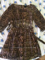 блузка-туника H&M леопард