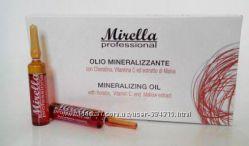 Минерализированное масло для волос Mirella 10 ампул по 10 мл