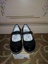 Класичні шкіряні туфлі Bartek