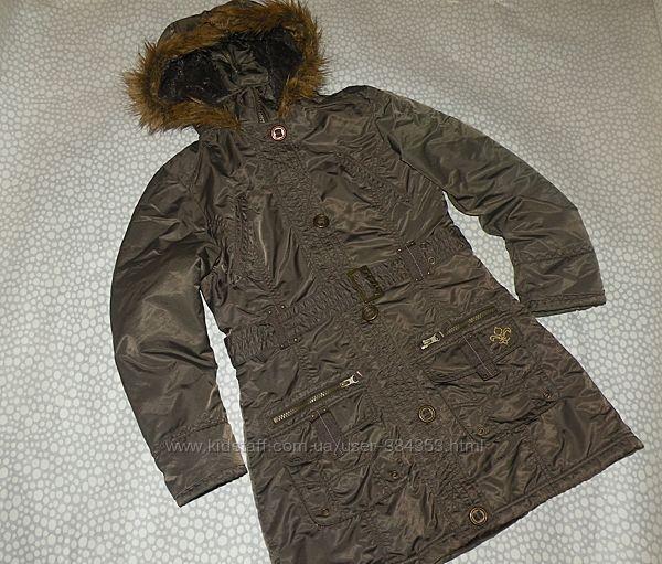 куртка-парка 10-12 лет
