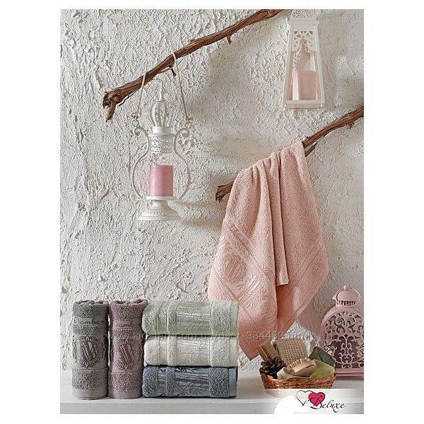 Бамбуковые полотенца Cestepe Bamboo Delux Damask Silk 50х90 и 70х140 см