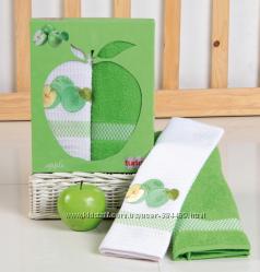полотенца для кухни Turkiz collection фрукты 50х70 см