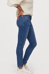 Новые стрейчевые джинсы-скинни 30 размер h&m англия