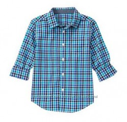 Новая стильная рубашка Gymboree на 10-12 лет