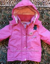 Куртка Coccobello демисезонная на девочку 2-3х лет, 98 р-р