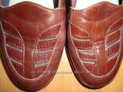 удобные кожаные туфельки Rieker стелька 24, 5