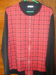 блузочка  на замочке в стиле Burberry р-р 48-50 на высоких девушек