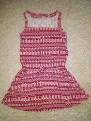 Крутое платье 6-8 лет Crazy8