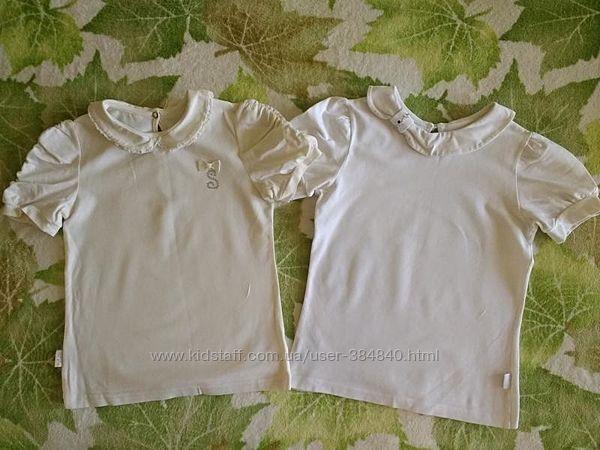 Набор школьных блузок с коротким рукавом