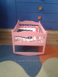 Кроватка - люлька для кукол Бэби Бон