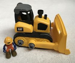 Машинка-конструктор CAT Machine Maker Бульдозер в идеальном состоянии