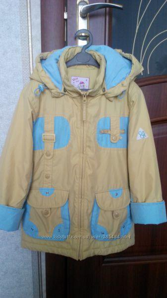 Демисезонная фирменна куртка Diwa Club  на девочку , 128 -134 рост